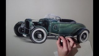 Drawing my first car