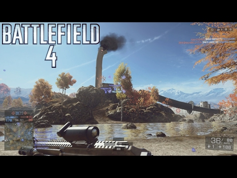 Battlefield 4: Multiplayer #182 ::Conquest:: The Squad Leader Role - No Commentary