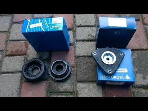 Замена подшипника, опоры переднего амортизатора SKF VKD35035T и Lemforder 3400201 на Ford Focus