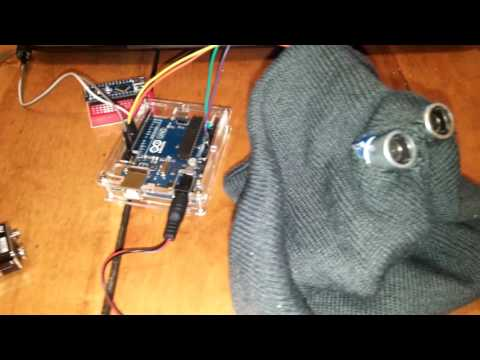 Programming with arduino 12 - help blind person to walk safely.