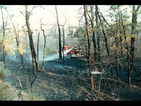 Monroe Twp, NJ (Middlesex) Major Forest Fire 1985
