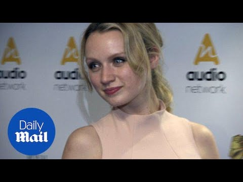 Emily Berrington wows in nude dress at RTS awards in London  Daily Mail
