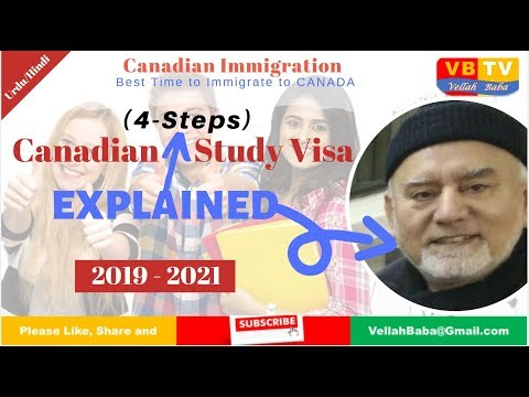 Canadian Study Permit In Easy 4 Steps