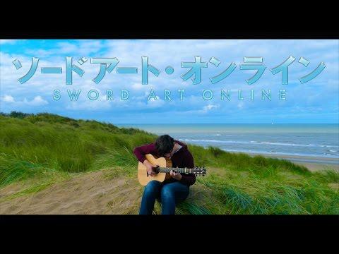 Sword Art Online II OP2 - Courage - Fingerstyle Guitar Cover