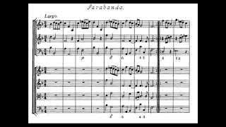 Arcangelo Corelli - Concerto grosso op. 6 n. 11 - Sarabanda (score)