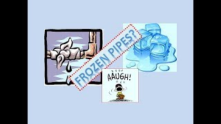 💧 Do I Have a frozen Water Pipe? Oh No !!! 😲 Water Leak While Living Off Grid
