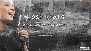 Lost Stars - Adam Levine (Maroon 5) (Instrumental & Lyrics)