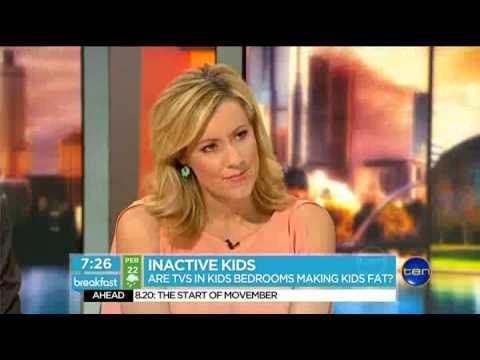 Inactive Kids: Are TVs in Kids Bedrooms Making Kids Fat?