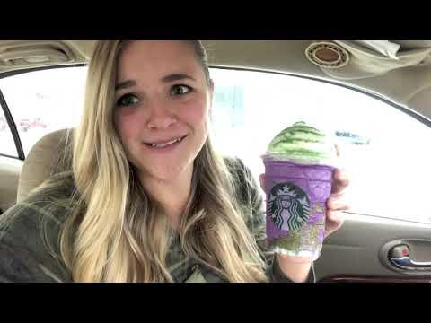 Witch's Brew Frappuccino Taste Test