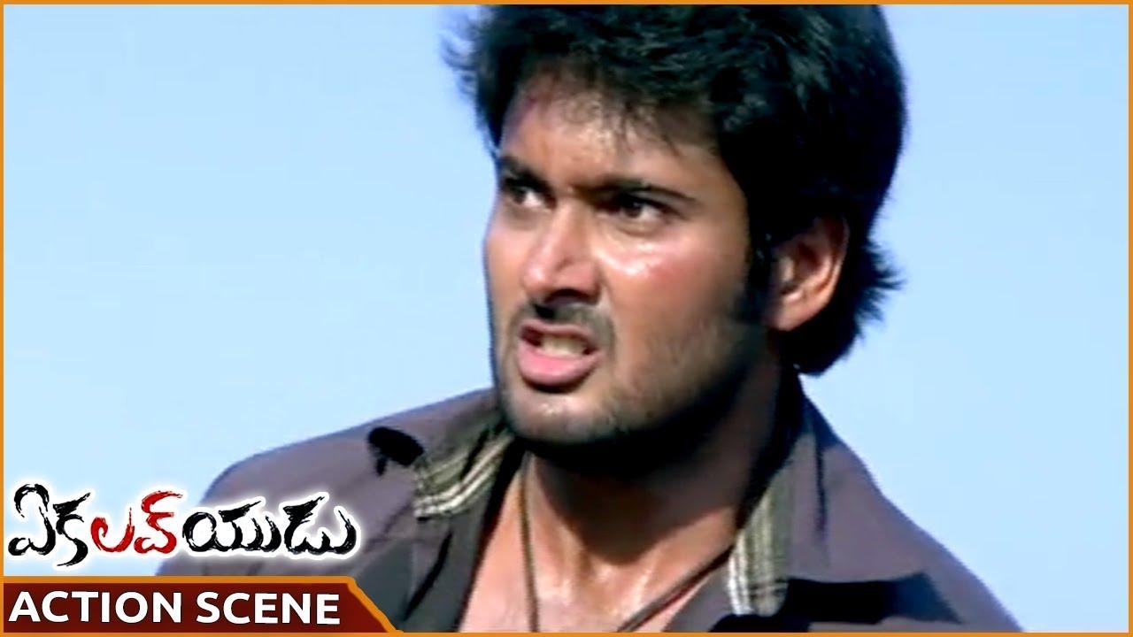 Ekaloveyudu Movie || Uday Kiran Best Action Scene || Uday ...