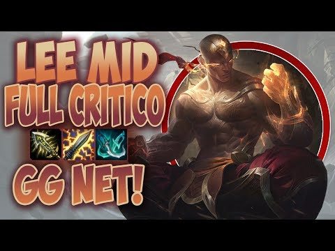 META É O CARVALHO! #70 - LEE SIN 100% CRÍTICO! - GG NET! - League of Legends