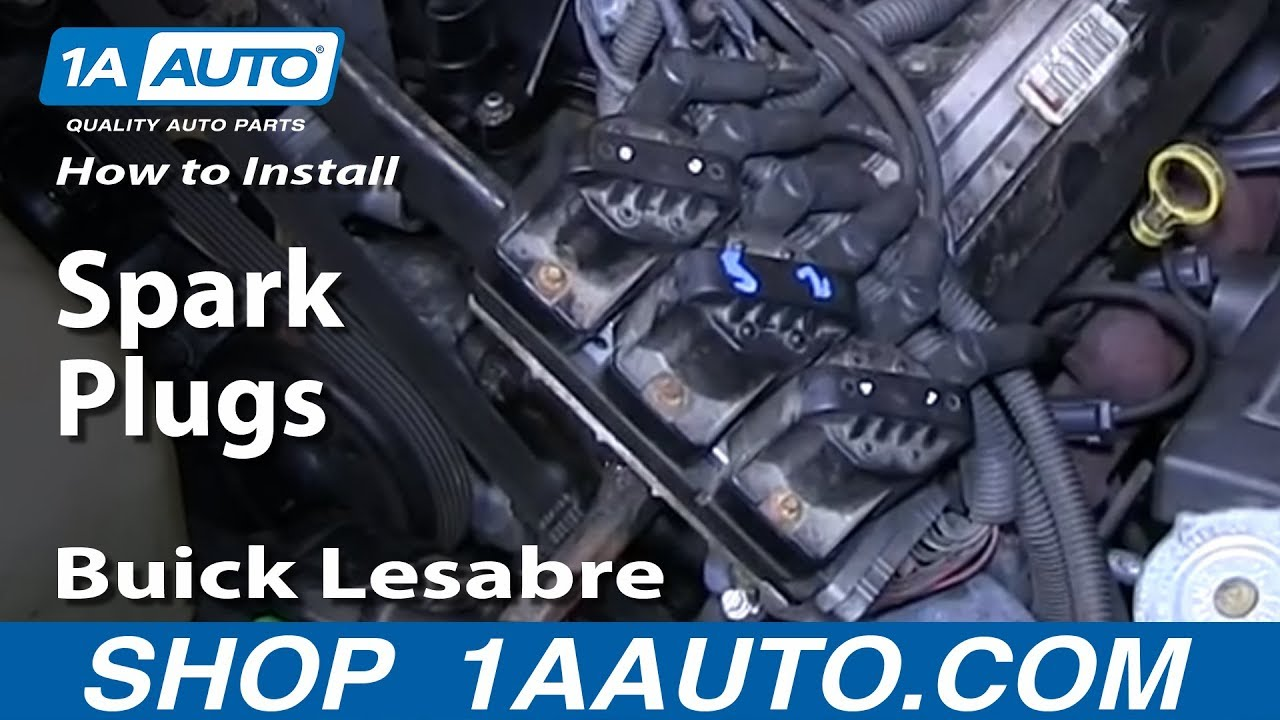 How To Install Replace Spark Plugs 1992 99 Buick Lesabre 3800 Youtube 1990 Century Firing Order Diagram Wiring Schematic