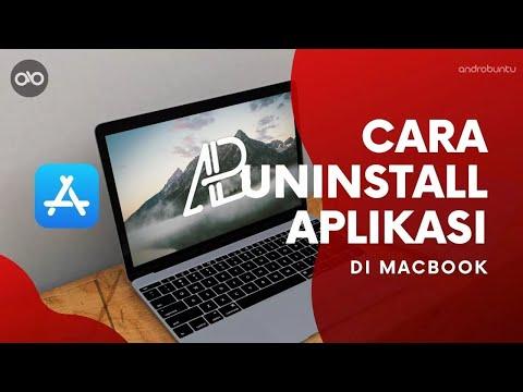 Cara Menghapus atau Uninstall Aplikasi di Macbook (macOS)   Androbuntu