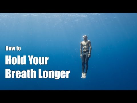 How to Hold Your Breath Longer: a freediving tutorial from a