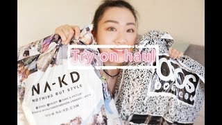 Gambar cover try on haul 和我一起来试穿