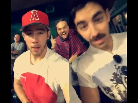 jicknonas Snapchat - Nick, Joe & John Taylor