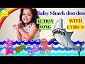 Baby Shark Do do do do English Rhyme With Dance |Action Song for kids| Kids Nursery Rhymes & Songs