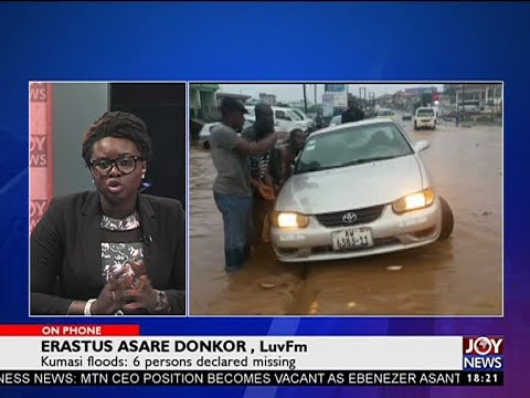 Kumasi floods: 6 persons declared missing - Editors' Forum on JoyNews (8-10-17)[Part 2]