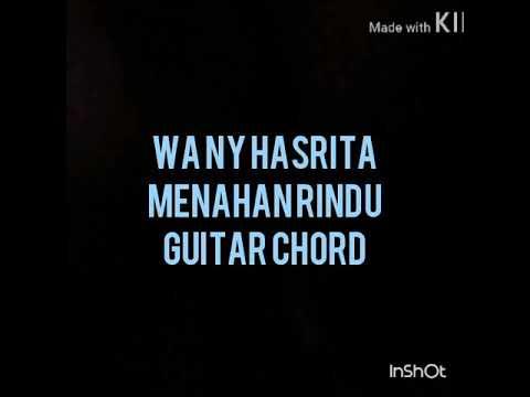 Kord gitar menahan rindu