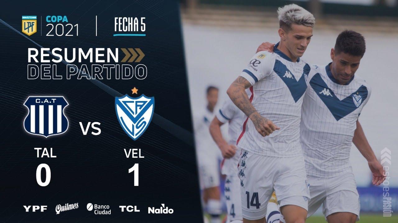 Copa De La Liga | Fecha 5 | resumen de Talleres - Vélez