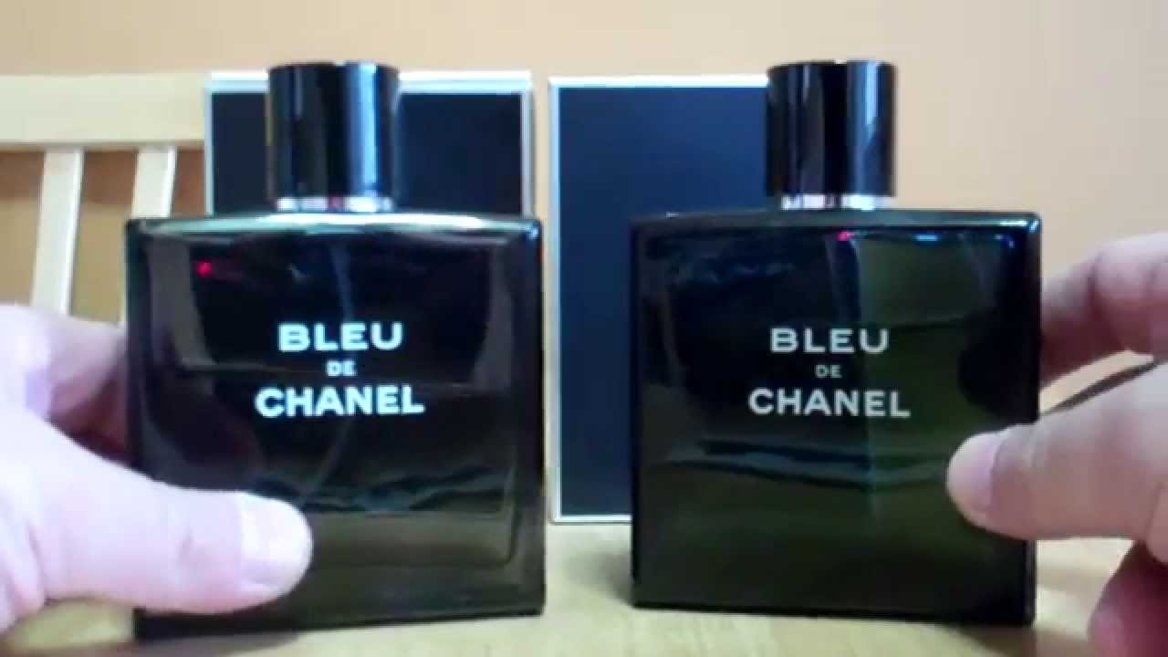 0b14a385290 Real vs Fake Part 5 Bleu De Chanel by Chanel What to Look For. STREET SCENTS
