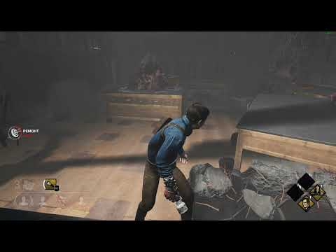 Dead by Daylight Ash vs Evil campers and worst teammates  