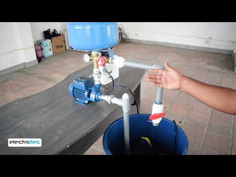 Bombeo de agua con TANQUE HIDRONEUMATICO || FUNCIONAMIENTO thumbnail