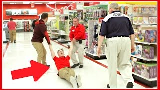 caspar lee kicked out of target