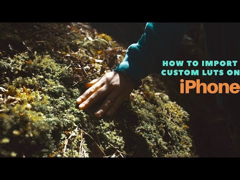 How to import Custom Luts on iPhone  Video Lut App  iPhone LUTs  Aug2017