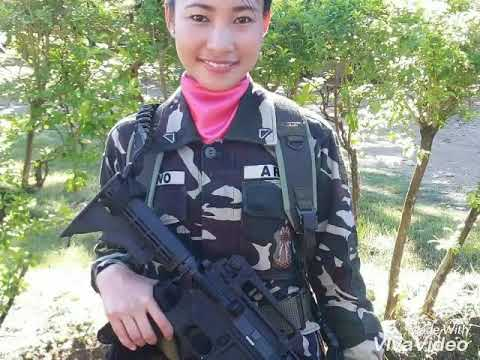 PHILIPPINE FEMALE SOLDIERS: women power and beauty""