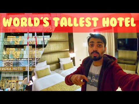 MY ROOM in WORLD'S TALLEST HOTEL in DUBAI | What's the Room price?