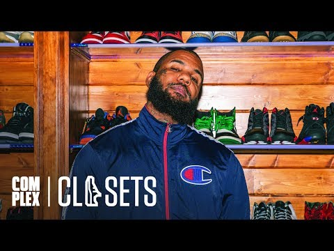 The Game has a bulletproof sneaker closet
