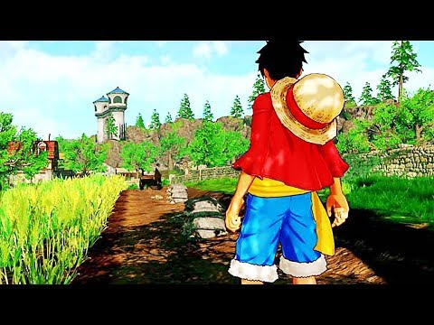 ONE PIECE WORLD SEEKER Trailer (2018) PS4 / Xbox One / PC