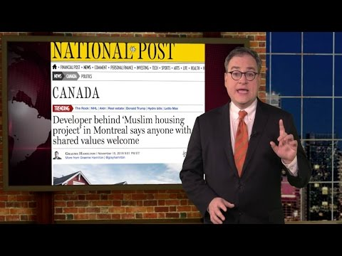 "Why don't Liberal's oppose ""sharia values"" housing complex in Montreal?"