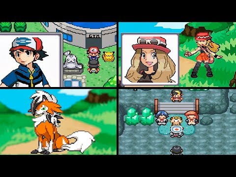 MEGA VERSION: 2° BETA DO GAME+SERENA+LYCANROC DUSK! (GBA)
