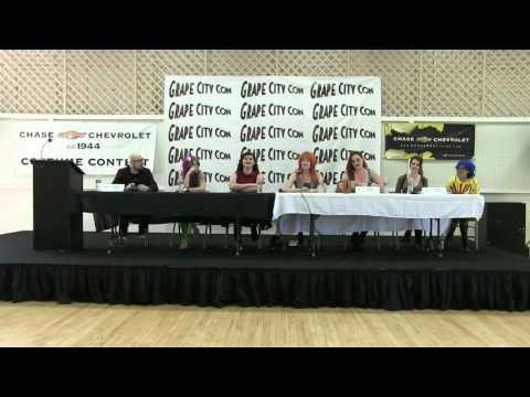 Geek Fashion Panel Grape City Con 2016