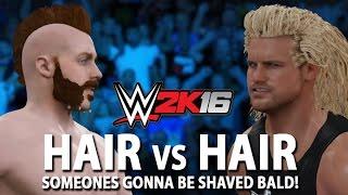 WWE 2K16: Hair vs Hair Match Concept (Sheamus vs. Dolph Ziggler)