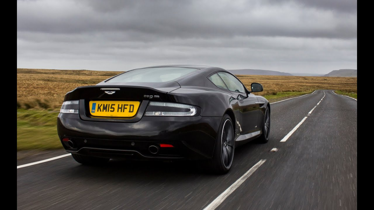Aston Martin DB GT Review A Fond Farewell To A V Legend YouTube - Aston martin gt