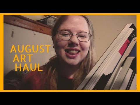Sketchbooks, Inking Pens And Watercolor Paper // August Art Haul