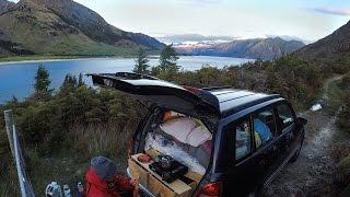 我們的超迷你1300cc改裝露營房車-紐西蘭南島自駕遊 The tiniest little campervan on NZ's west coast