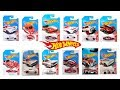 2017 TARGET EXCLUSIVES RED EDITION HOT WHEELS LIST complete images
