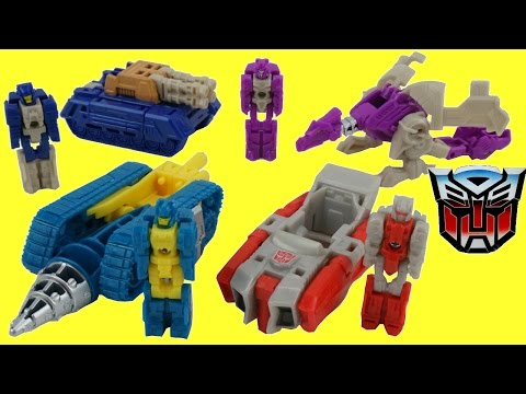 REALLY LITTLE TRANSFORMERS TITANS RETURN TITAN MASTERS ONE STEP CHANGERS WAVE 1