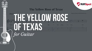 The Yellow Rose of Texas Guitar Tab