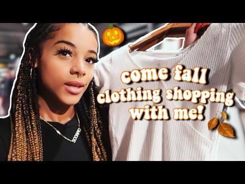 Vlog: Come Fall Clothing Shopping With Me + Mini Haul! | Azlia Williams