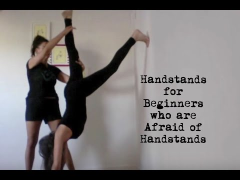 yoga handstand for beginners who are afraid of handstands - shana meyerson YOGAthletica