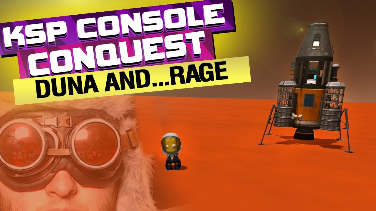 I FINALLY Try the KSP Mun Launch Site and Head to Duna...Tragedy, Fustration, and Rage Ensues....