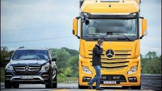 Mercedes-Benz Trucks Safety Technologies