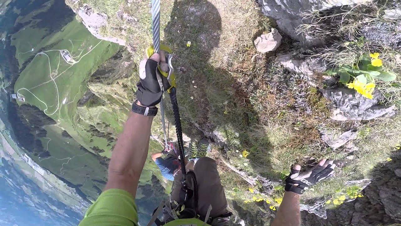 Klettersteig Kitzbüheler Horn : Mischitour kitzbühler horn klettersteig youtube