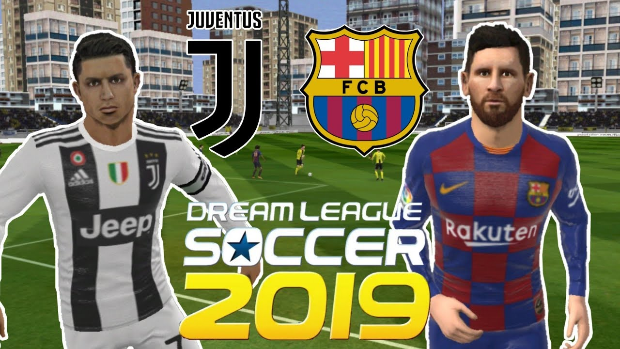 Juventus vs Barcelona • Champions League • Dream League ...