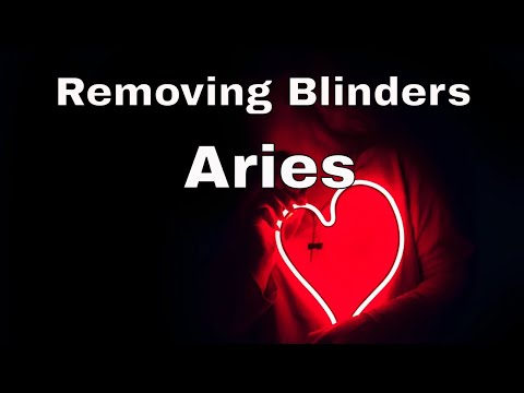 ♈ Aries Removing Blinders Tarot 📚 | They Want To Apologize.  But You Need Balance